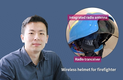 Developing a 'Wireless Helmet' for Firefighters