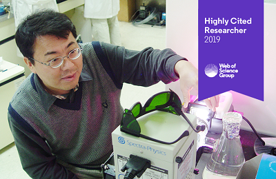 Professor Wonyong Choi Designated as a Highly Cited Researcher