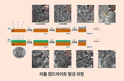 화학 박수진 교수팀, 리튬 금속 전지 폭발 문제점 잡고 안전성·성능 높여 상용화 앞당긴다