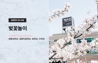 2019 봄호 / 공대생이 보는 세상 / 벚꽃놀이